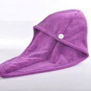 Ultra absorbent Microfiber hair turban hair Cap dry towel towel white blue brown orange pink (very useful,