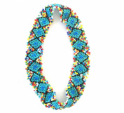 Native American Pattern Elastic Stretch Seed Bead Beaded Headband Hair Accessories