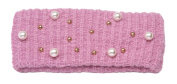 Womens Winter Fashion Pearl Headband