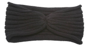 Womens Knitted Ribbed Fashion Headband