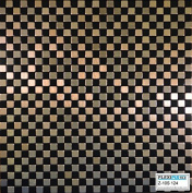 FLEXIPIXTILE, Modern Aluminium Mosaic Tile, Peel & Stick, Backsplash, Accent Wall, 0.09sqm WALKWAY
