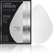 Oleavine All Natural Konjac Sponge - Original Pure White - Gentle Exfoliating Facial Sponge