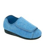 Womens Extra Extra Wide Width Adjustable Slippers - hook and loop brand Diabetic &