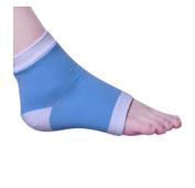 Viskey Moisturising Silicone Gel Heel Protectors Socks for Dry Hard Cracked Skin