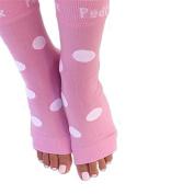 PEDI SOX Pink & White Polka Dot 1-pr