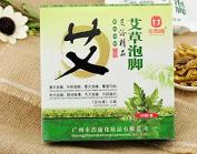 Foot Soak Chinese Herbaceous Foot Bath Powder Foot Steep Cartridge Package, Wormwood Foot Powder,3*20bags