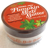 Trader Joes Pumpkin Body Butter - Luxurious Body Butter Made with Coconut Oil, Shea Butter & Pumpkin Seed Oil - 240ml, 227g.