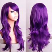 """Women/ladies 28"""" 70cm Long Curly Hair Cosplay/costume/anime/party/bang Full Sexy Wig"""