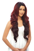 Janet Collection Brazilian Scent 100% Human Hair Lace Wig - AILEEN (oet1b/bur...