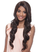 Janet Collection Super Flow Deep Part Lace Wig - ELVEEN - BLACKPURPLE