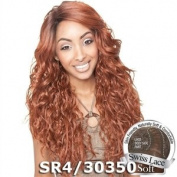 ISIS Brown Sugar Human Hair Blend Soft Swiss Lace Front Wig - BS211