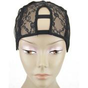 MsFenda U-part wig cap, Wig Making Cap, Glueless Wig Cap, Weaving Mesh Net Cap, adjustable Wig Cap, 3pcs/lot