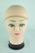 BHD Open Breathable Stocking Wig Stretch Caps Liner Mesh for Wig Toupee(Beige Brown Black) BHD002
