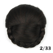 Hair Chignon Synthetic Hair Buns Hairpiece Fake Hair Bun