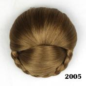Hair Chignon Synthetic Hair Buns Hairpiece Fake Hair Bun