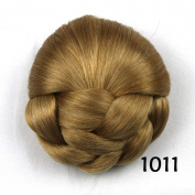 Hair Chignon Synthetic Hair Bun Hairpiece Clip-In Hair Buns