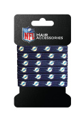 NFL Hair Accessory 6-Elastic Ponytail Bands