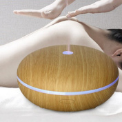 Popfeel Egg Shaped Essential oil Electric Blue LED Light Changeble Whisper-Quiet Cool Mist Humidifier-Best Choice For Aromatherapy