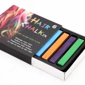New 6 Colours Long Non-Toxic Temporary Diy Hair Chalk Dye Soft Pastels Salon Kit
