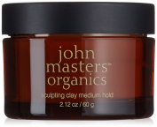 John Masters Organics Sculpting Clay-Medium Hair Hold, 60ml