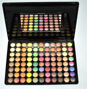 BLUETTEK Hot New Professional 88 Colours Ultimate Eyeshadow Eye Shadow Palette Cosmetic Makeup Kit Set Make Up Professional Box-Matte and Shimmer