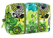 Vera Bradley Large Cosmetic in Limes Up