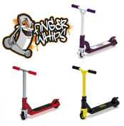 Finger Whips X3 Triple Pack - Yellow and Black, Purple and white, Red and Grey