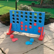 Giant Four In A Row Super Size Outdoor / Garden Game By Kingfisher
