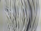 White Elastic Stretch Shock Cord 2mm 25 yards 23 metre
