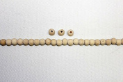 Natural Wood Beads - Pack of 250 - 500 - 1000 Beads *Excellent Basic & Important Shapes *