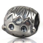 Happy Cute Baby Boy 925 Sterling Silver Bead Fits Pandora Charm Bracelet