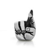 Good Luck Fingers Crossed 925 Sterling Silver Charm Fits Pandora Charm Bracelet