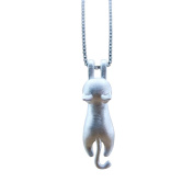 Onairmall Sterling Silver Cartoon Series Lovely Cat Ring/stud Earrings/pendant Necklace/bracelet (Necklace