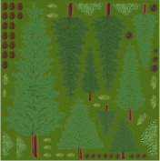 Lea'bilities Embossing Folder, Leaves