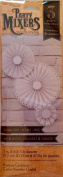 Party Mixers Paper Rosettes - Bright White