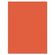Riverside Construction Paper, 34kg., 23cm x 30cm , 50/PK, Orange