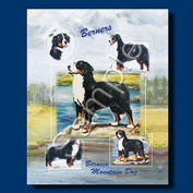 BERNESE MOUNTAIN DOG Gift Bag-large-By Best Friends by Ruth