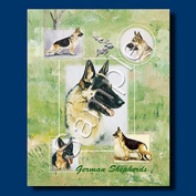 GERMAN SHEPHERD Gift Bag-small-By Best Friends by Ruth