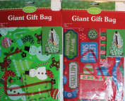 Christmas Gift Bags Bundle of 2 Items