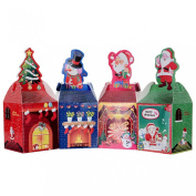 PhoebeTan Christmas Gift Boxes 16 Pieces A Pack