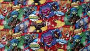 Skylanders Wrapping Paper Comic Christmas Gift Wrap