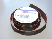 Prasent solid Maroon pattern 2.2cm . x 3m 100% Polyester Christmas Ribbon - Great for the Holiday Season!