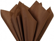 Cholcolate Colour Tissue Paper 38cm X 50cm - 100 Sheets