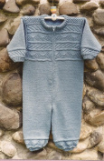 Rustic Rompers for Baby - Oat Couture Knitting Pattern BB213