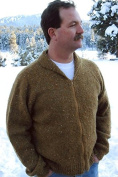 Neckdown Cardigan for Men - Knitting Pure & Simple Pattern #264
