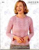 Jaeger Handknits JB18 Knitting Pattern Book