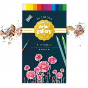 High Quality Watercolour Pencils - Premium Watercolour Pencil Set for Artists and Beginners; Water-soluble Set; Can Be Used Wet or Dry; Beautiful 36 Colours with Paint Brush and Sharpener