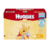 Huggies Little Snugglers Size 2 Super Pack - 92 Count