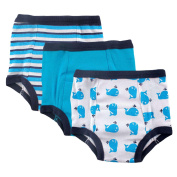 Luvable Friends 3 Pack Water Resistant Training Pants - Whale