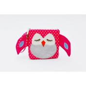 My Fist Buddy Snack Bag Stella - Pink Polka Dot Owl